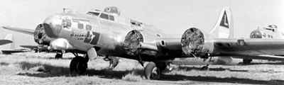 The story of the scrapping of B-17 Flying Fortresses after World War II