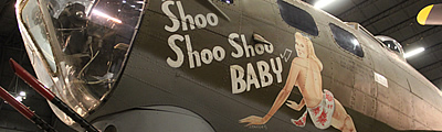"Background and story of the B-17 Flying Fortress ""Shoo Shoo Shoo Baby"""