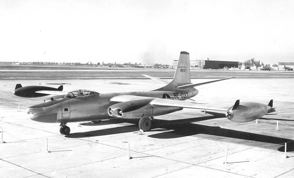 North American RB-45C, S/N 48-037, Buzz Number BE-037