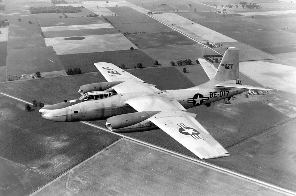 North American RB-45C of the U.S. Air Force, S/N 48-017, Buzz Number BE-017