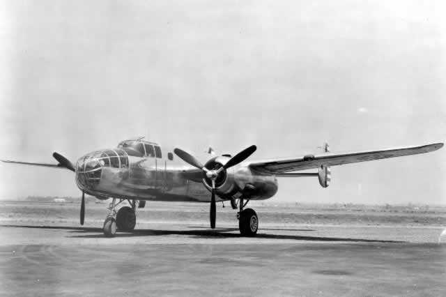 Early production model of the B-25 Mitchell