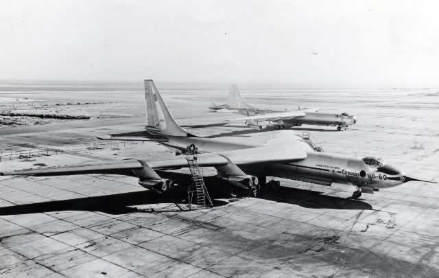 Convair YB-60 and B-36