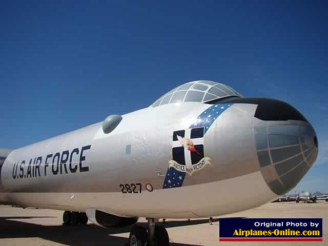 "Convair B-36J Peacemaker ... ""Justice With Victory"""