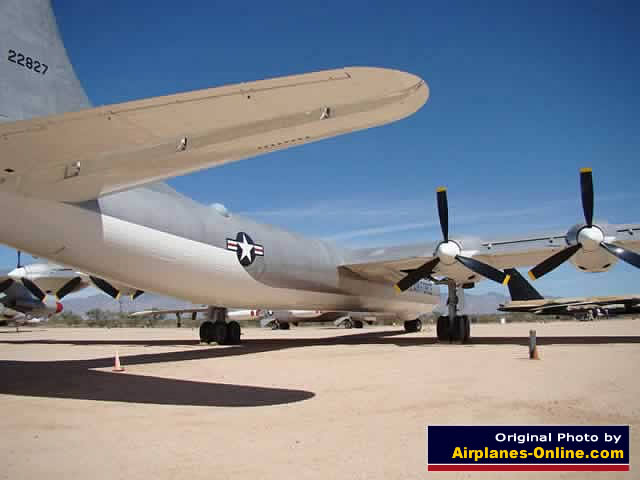 Rear view of the B-36J Peacemaker 22827