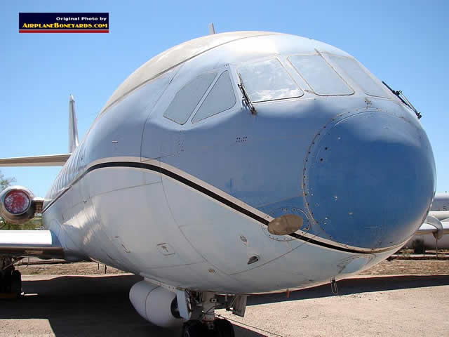 Sud Aviation SE 210 Caravelle on display at the Pima Air and Space Museum in Tucson, Arizona