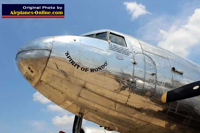 "C-47B Skytrain ""Spirit of Hondo"" S/N 44-77109, now renamed ""Texas Zephyr"""