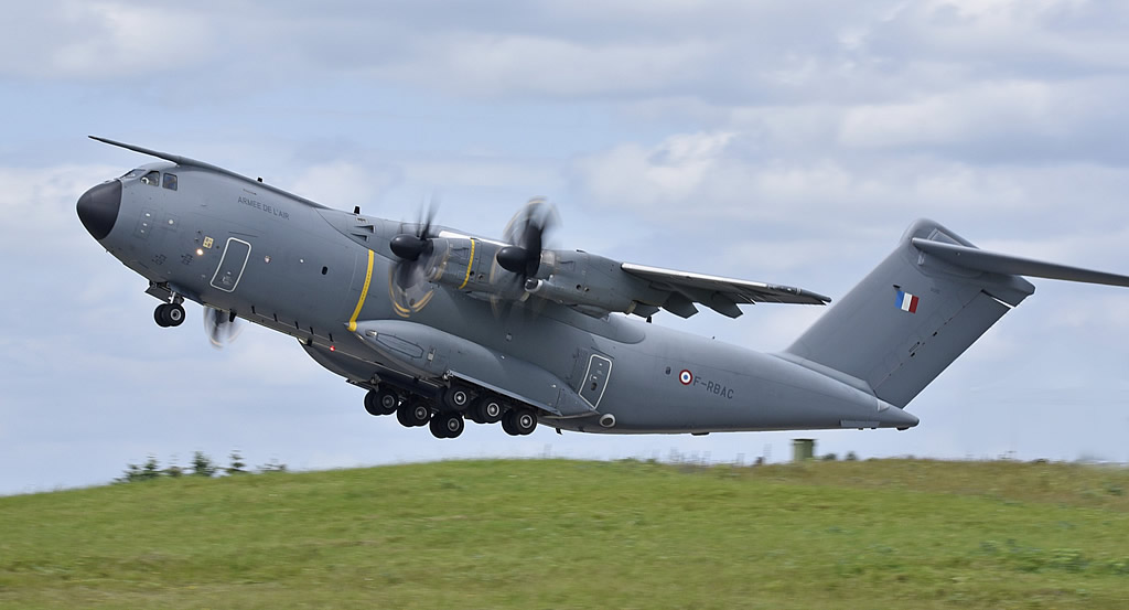 Airbus A400M Atlas of the French Air Force, Registration F-RBAC