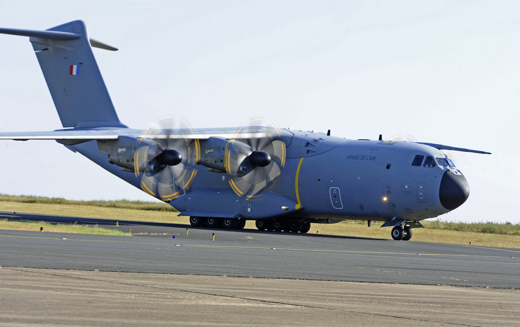 Airbus A400M Atlas of the French Air Force, Registration F-RBAF