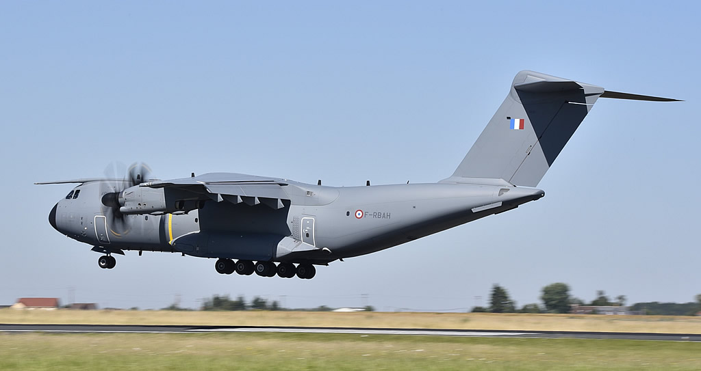 Airbus A400M Atlas of the French Air Force, Registration F-RBAH