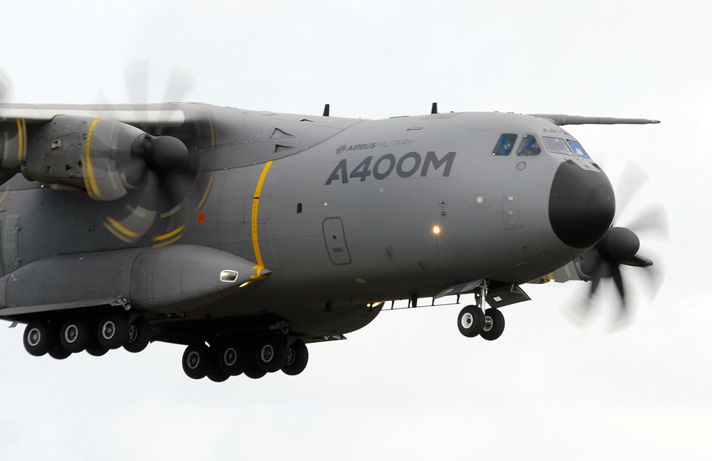 Airbus A400M Msn 003, Registration F-WWMS, seen here in flight on April 18, 2013