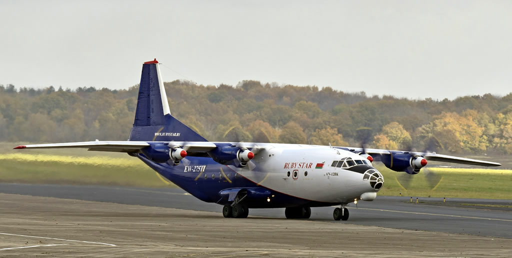 Ruby Star Antonov An-12BK, Registration EW-275TI