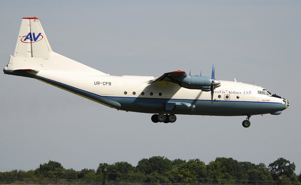 Antonov An-12BP, Registration UR-CFB