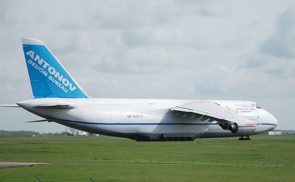 An-124-100 International Cargo Transporter, Registration UR-82073, Antonov Design Bureau
