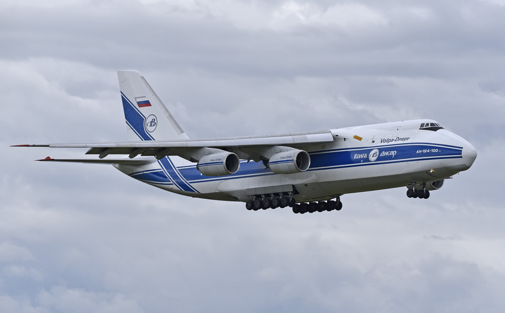 Volga-Dnepr An-124-100 RA-82047 in flight