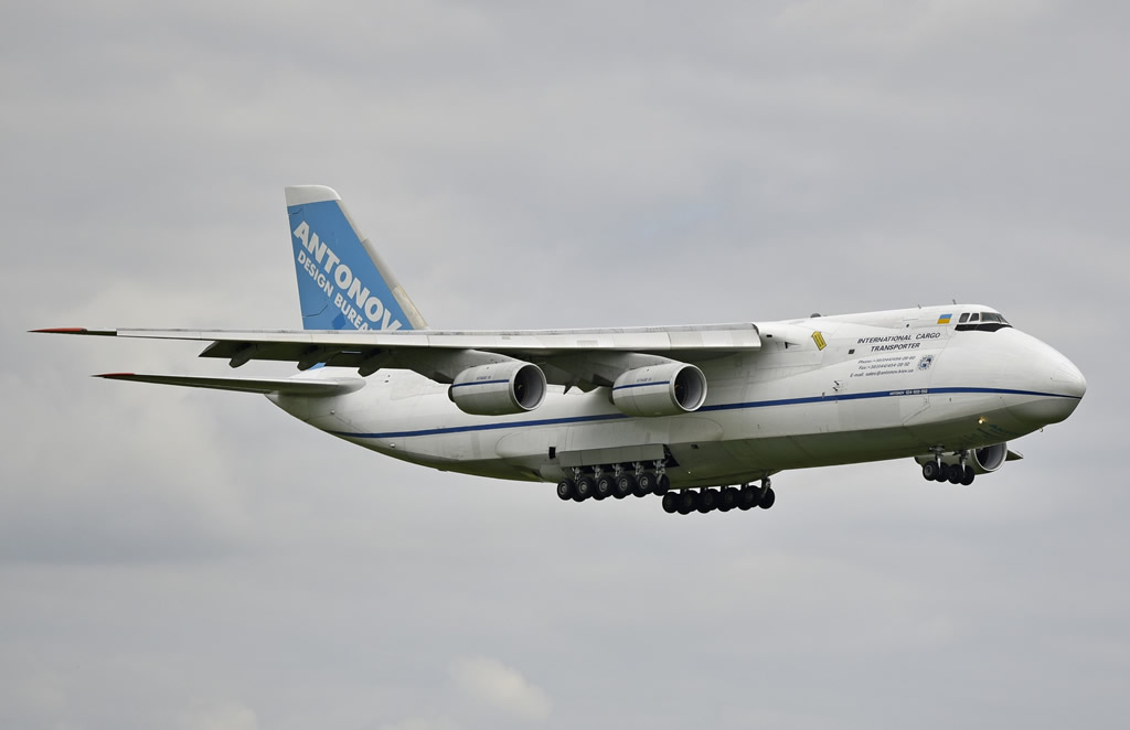 An-124-100-150 International Cargo Transporter, Registration UR-82072, Antonov Design Bureau