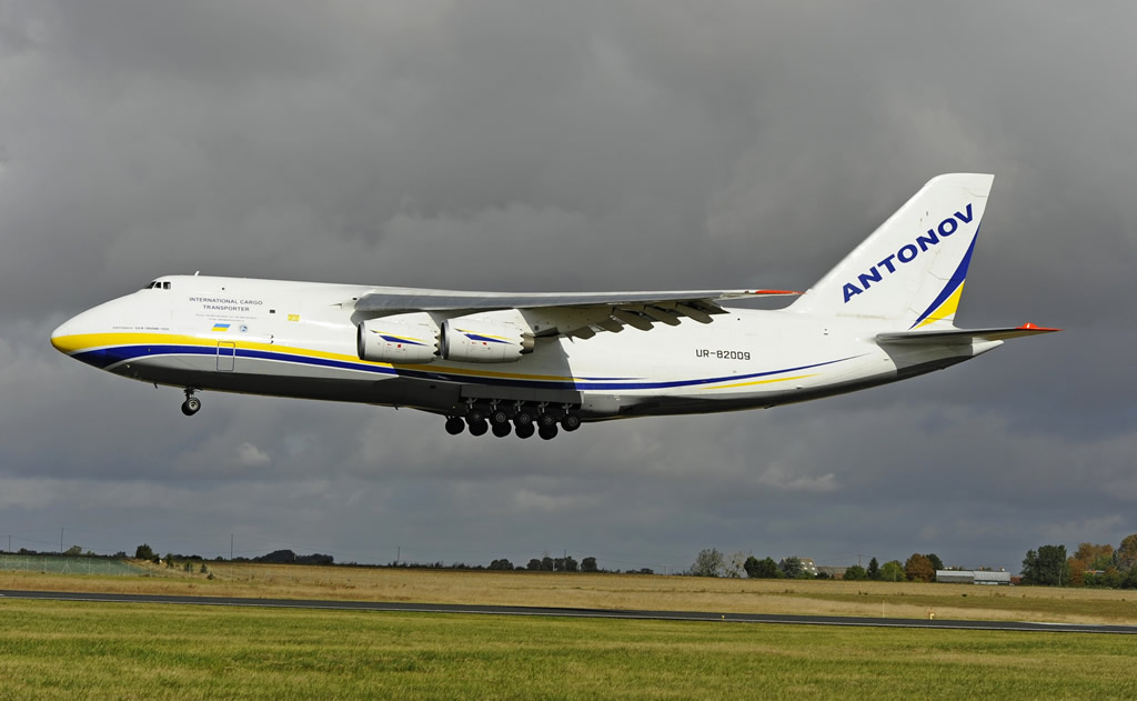 An-124-100M-150 International Cargo Transporter, Registration UR-82009, Antonov Airlines