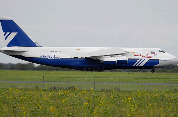 An-124-100, Registration RA-82077, Poliet Flight