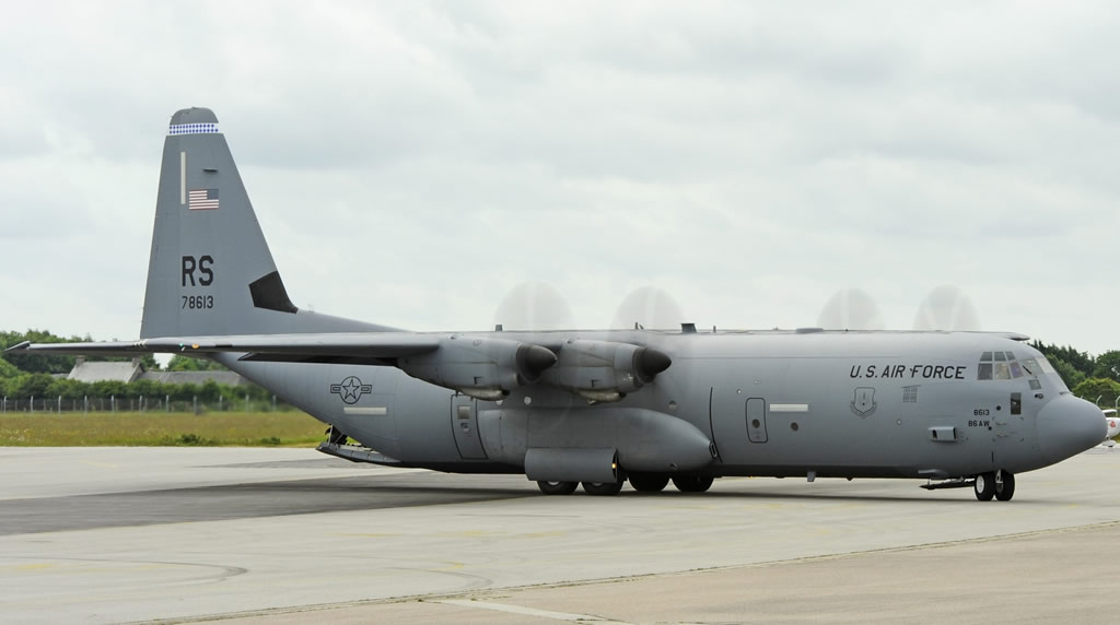 C-130-J30 RS 78613 of the United States Air Force