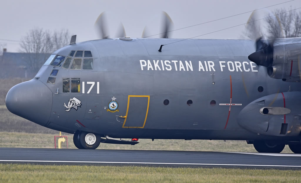 C-130 171 of the Pakistan Air Force