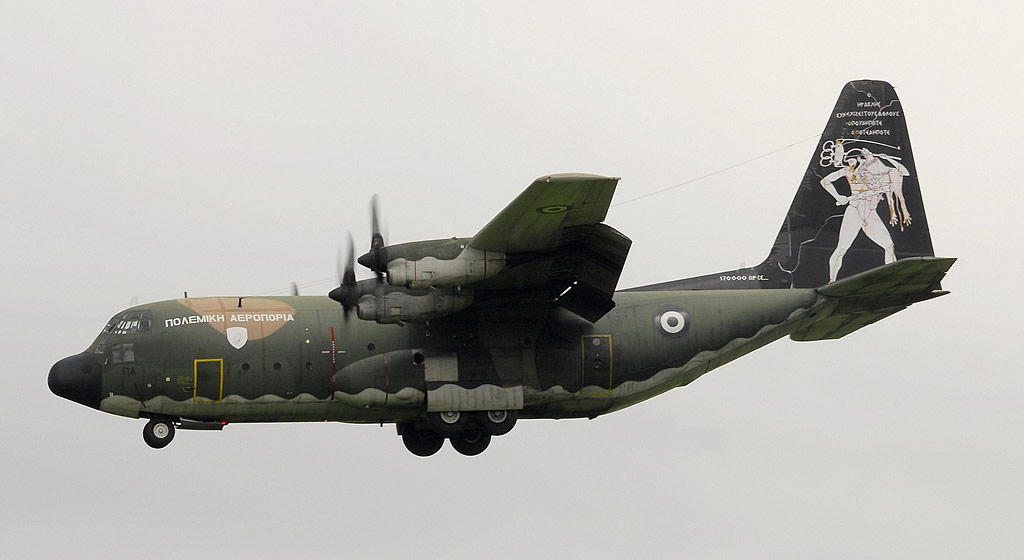 C-130H 752 of the Hellénic Air Force