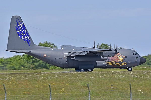 C-130 Hercules 61-PM of the French Air Force, painted to mark the 30th Anniversary of the C-130 in French service