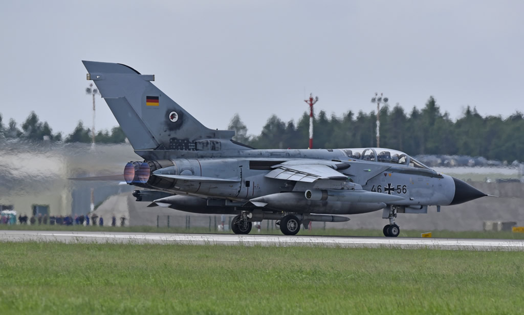 Panavia Tornados of the German Air Force