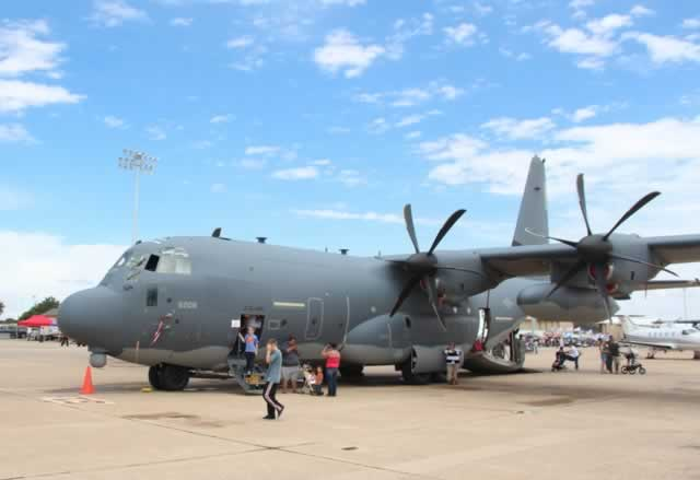 C-130J Super Hercules at the 2014 Cannon AFB Air Show, Clovis, New Mexico