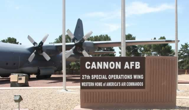 Cannon Air Force Base, Clovis, New Mexico ... 27th Special Operations Wing