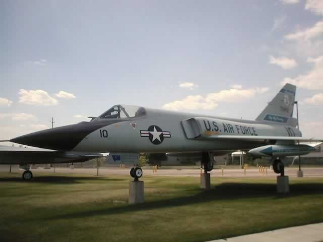 F-106A on display in Great Falls, Montana