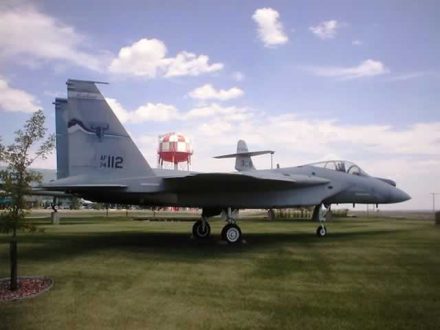 F-15A Eagle at Great Falls, Montana