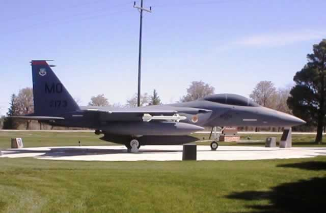 F-15B Eagle at Mountain Home Air Force Base