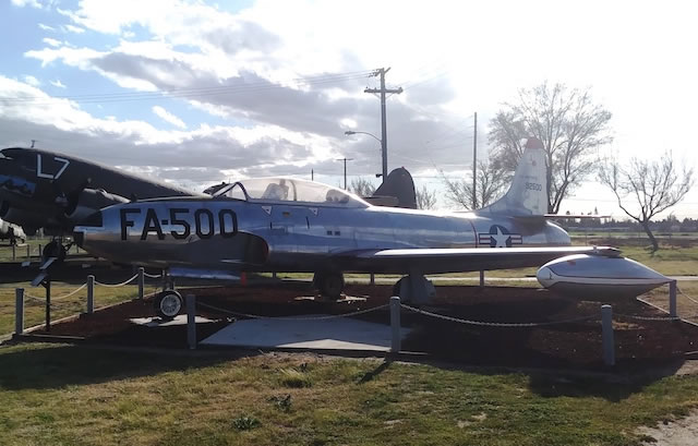 F-94A Starfire, Buzz Number FA-500, Castle Air Museum, Atwater, California