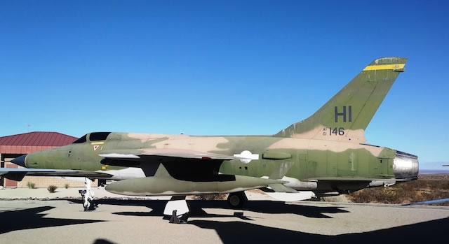 F-105D Thunderchief, S/N 61-0146, Air Force Flight Test Museum, Edwards AFB, California