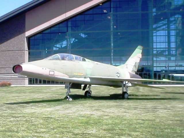F-100F Super Sabre, S/N 56-3832, Evergreen Aviation & Space Museum, McMinnville, Oregon