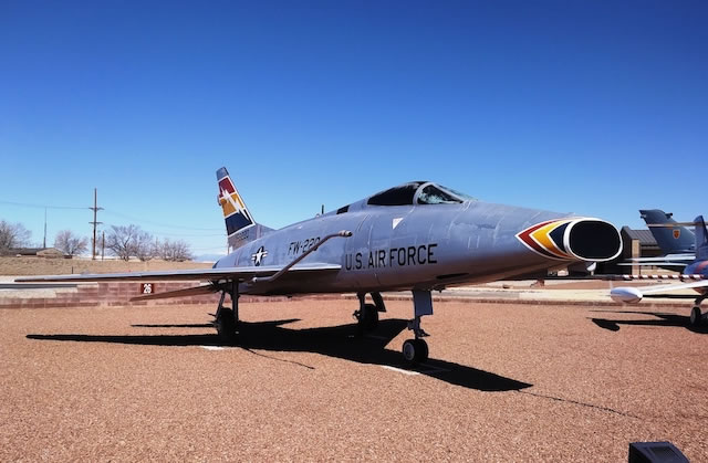 F-100D Super Sabre, S/N 56-3220, Holloman AFB, New Mexico