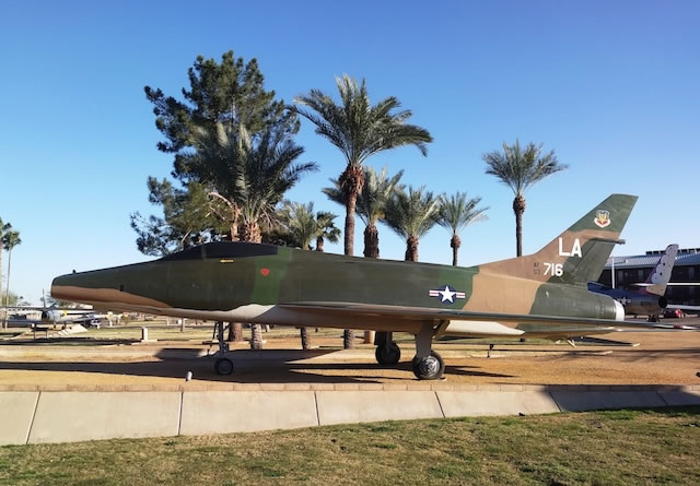 F-100C Super Sabre, S/N 53-1716, Luke Air Force Base, Phoenix, Arizona