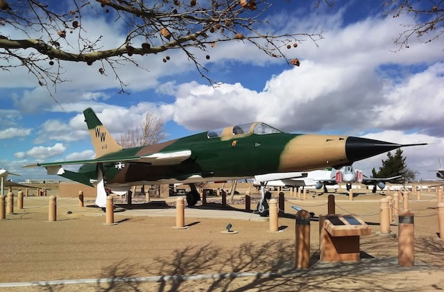 F-105G Thunderchief, S/N 62-4416, Joe Davies Heritage Airpark at Palmdale Plant 42 in California
