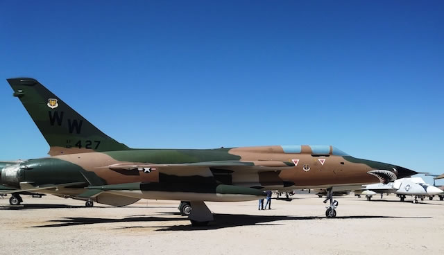 F-105G Thunderchief, S/N 62-4427, Pima Air and Space Museum, Tucson, Arizona