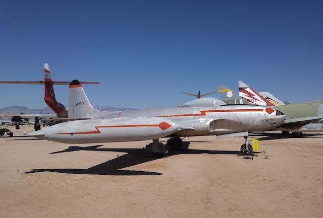 F-80B Shooting Star, S/N 45-8612, Pima Air and Space Museum, Tucson, Arizona