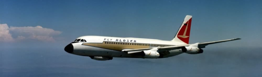 Alaska Air Lines Convair 880