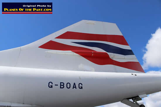 British Airways Concorde G-BOAG