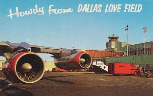 Earlier days at Dallas Love Field