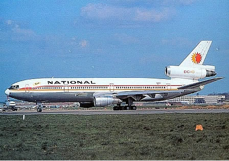DC-10 National Airlines