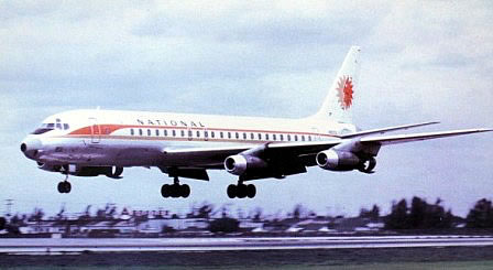 DC-8 National Airlines