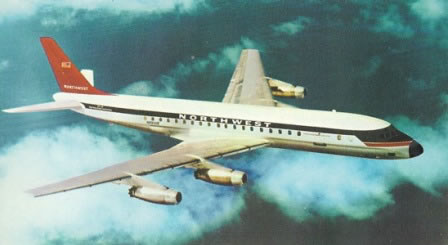 DC-8 Northwest Airlines