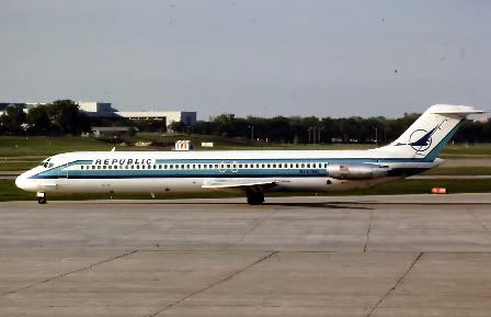 DC-9 Republic Airlines