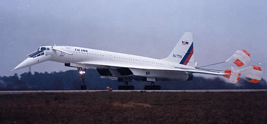 Tupolev Tu-144 SuperSonic Transport