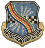 401st Tactical Fighter Wing at England AFB in Alexandria, Louisiana
