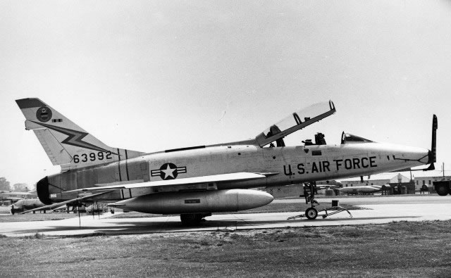 U.S. Air Force F-100 Super Sabre 63992