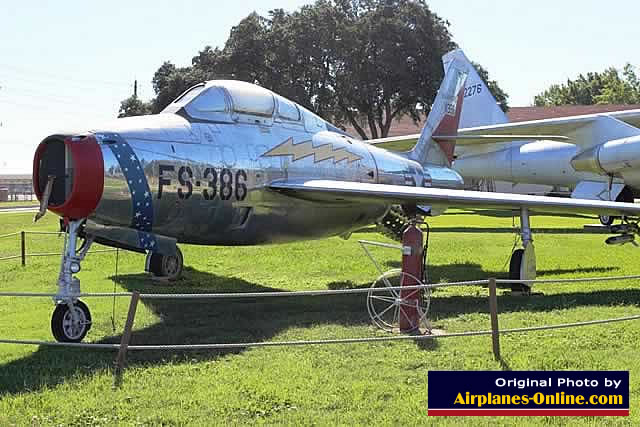 Republic F-84F Thunderstreak, S/N 51-1386, Buzz Number FS-386